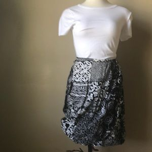 Casual corner faux wrap skirt 4